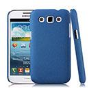 Coque Samsung Galaxy Win Duos i8550 i8552 Sables Mouvants Etui Rigide - Bleu