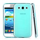 Coque Samsung Galaxy Win Duos i8550 i8552 Silicone Transparent Housse - Bleue Ciel