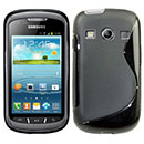 Coque Samsung Galaxy Xcover 2 S7710 S-Line Silicone Gel Housse - Noire