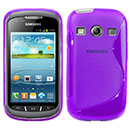 Coque Samsung Galaxy Xcover 2 S7710 S-Line Silicone Gel Housse - Pourpre