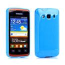 Coque Samsung Galaxy Xcover S5690 Silicone Gel Housse - Bleue Ciel