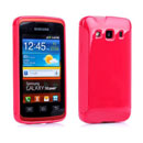 Coque Samsung Galaxy Xcover S5690 Silicone Gel Housse - Rouge