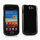 Coque Samsung i8150 Galaxy W Silicone Gel Housse - Noire