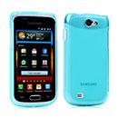 Coque Samsung i8150 Galaxy W Silicone Transparent Housse - Bleue Ciel