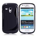 Coque Samsung i8190 Galaxy S3 Mini S-Line Silicone Gel Housse - Noire