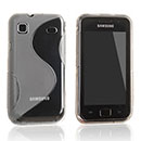 Coque Samsung i9000 Galaxy S S-Line Silicone Gel Housse - Clear