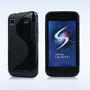Coque Samsung i9000 Galaxy S S-Line Silicone Gel Housse - Noire