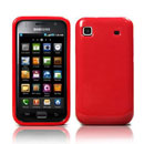 Coque Samsung i9000 Galaxy S Silicone Gel Housse - Rouge