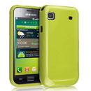 Coque Samsung i9000 Galaxy S Silicone Gel Housse - Verte