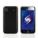 Coque Samsung i9003 Galaxy SL Filet Plastique Etui Rigide - Noire