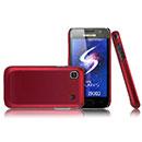 Coque Samsung i9003 Galaxy SL Plastique Etui Rigide - Rouge
