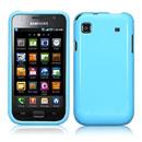 Coque Samsung i9003 Galaxy SL Silicone Gel Housse - Bleu