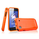 Coque Samsung i9003 Galaxy SL Silicone Gel Housse - Orange