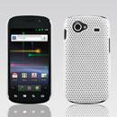 Coque Samsung I9020 Nexus S Filet Plastique Etui Rigide - Blanche