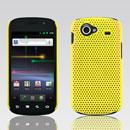 Coque Samsung I9020 Nexus S Filet Plastique Etui Rigide - Jaune
