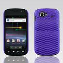 Coque Samsung I9020 Nexus S Filet Plastique Etui Rigide - Pourpre