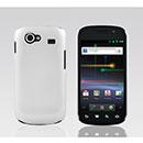 Coque Samsung I9020 Nexus S Plastique Etui Rigide - Blanche