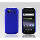Coque Samsung I9020 Nexus S Plastique Etui Rigide - Bleu