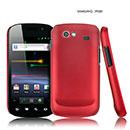 Coque Samsung I9020 Nexus S Plastique Etui Rigide - Rouge