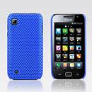 Coque Samsung i909 Filet Plastique Etui Rigide - Bleu