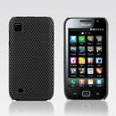 Coque Samsung i909 Filet Plastique Etui Rigide - Noire