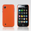 Coque Samsung i909 Filet Plastique Etui Rigide - Orange