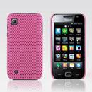 Coque Samsung i909 Filet Plastique Etui Rigide - Rose