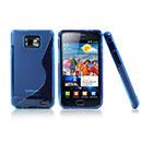 Coque Samsung i9100 Galaxy S2 S-Line Silicone Gel Housse - Bleu