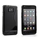 Coque Samsung i9100 Galaxy S2 S-Line Silicone Gel Housse - Noire