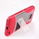 Coque Samsung i9100 Galaxy S2 Support Housse - Rose Chaud