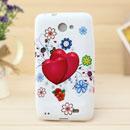 Coque Samsung i9103 Galaxy R Amour Silicone Housse Gel - Rose