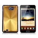 Coque Samsung i9220 Galaxy Note Aluminium Metal Plated Etui Rigide - Golden