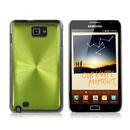 Coque Samsung i9220 Galaxy Note Aluminium Metal Plated Etui Rigide - Verte