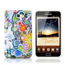 Coque Samsung i9220 Galaxy Note Fleurs Silicone Housse Gel - Mixtes