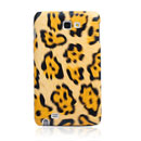 Coque Samsung i9220 Galaxy Note Leopard Etui Rigide - Brown
