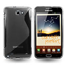 Coque Samsung i9220 Galaxy Note S-Line Silicone Gel Housse - Clear