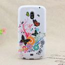 Coque Samsung i9250 Galaxy Nexus Prime Papillon Silicone Housse Gel - Verte