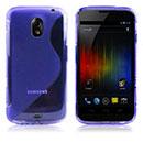 Coque Samsung i9250 Galaxy Nexus Prime S-Line Silicone Gel Housse - Bleu