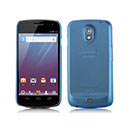 Coque Samsung i9250 Galaxy Nexus Prime Ultrathin Plastique Etui Rigide - Bleu