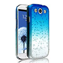 Coque Samsung i9305 Galaxy S3 4G Degrade Etui Rigide - Bleu