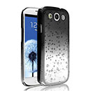 Coque Samsung i9305 Galaxy S3 4G Degrade Etui Rigide - Noire