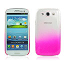 Coque Samsung i9305 Galaxy S3 4G Degrade Etui Rigide - Rose