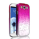 Coque Samsung i9305 Galaxy S3 4G Degrade Etui Rigide - Rose Chaud