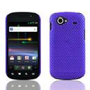 Coque Samsung Nexus S i9023 Filet Plastique Etui Rigide - Pourpre