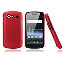 Coque Samsung Nexus S i9023 Plastique Etui Rigide - Rouge