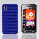 Coque Samsung S5230 tocco lite Filet Plastique Etui Rigide - Bleu