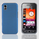 Coque Samsung S5230 tocco lite Filet Plastique Etui Rigide - Bleue Ciel