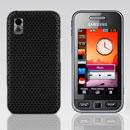 Coque Samsung S5230 tocco lite Filet Plastique Etui Rigide - Noire