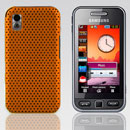 Coque Samsung S5230 tocco lite Filet Plastique Etui Rigide - Orange