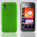 Coque Samsung S5230 tocco lite Filet Plastique Etui Rigide - Verte